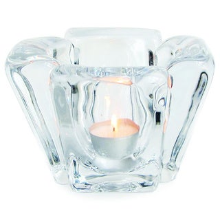 Luxe Praha Cut Glass Votive/ Tealight Holder