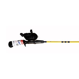 Eagle Claw Brave Eagle Packaged Spincast 5-foot 2-piece Med Combo