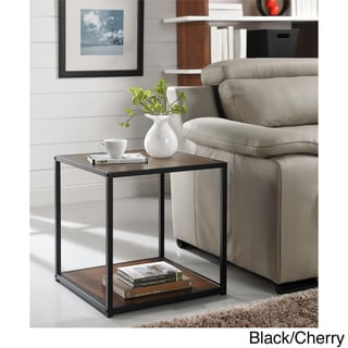 End Table with Metal Frame