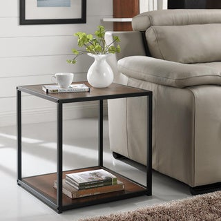 Altra End Table with Metal Frame