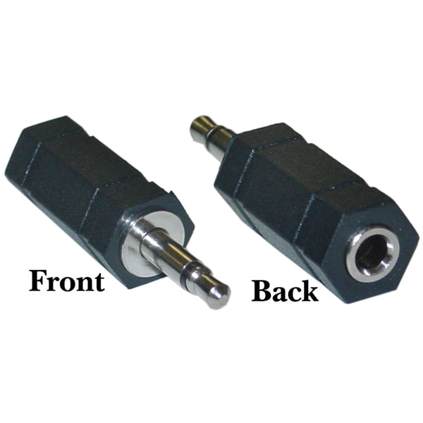 Offex 3.5mm Stereo Female / 3.5mm Mono Male Adaptor