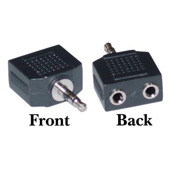 Offex 2 x 3.5mm Stereo Female / 3.5mm Stereo Male Stereo Splitter