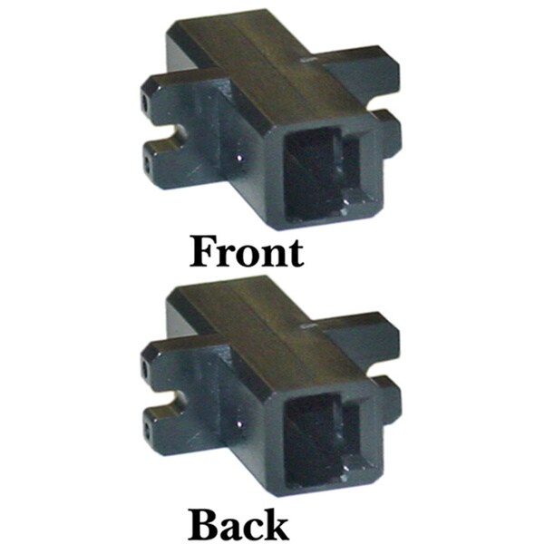 Offex MTRJ / MTRJ Duplex Plastic Housing Fiber Optic Coupler