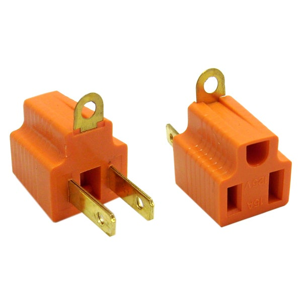 Offex 3 Prong to 2 Prong Grounding Converter