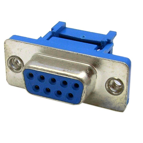 Offex DB9 Female IDC Ribbon Right Angle Connector