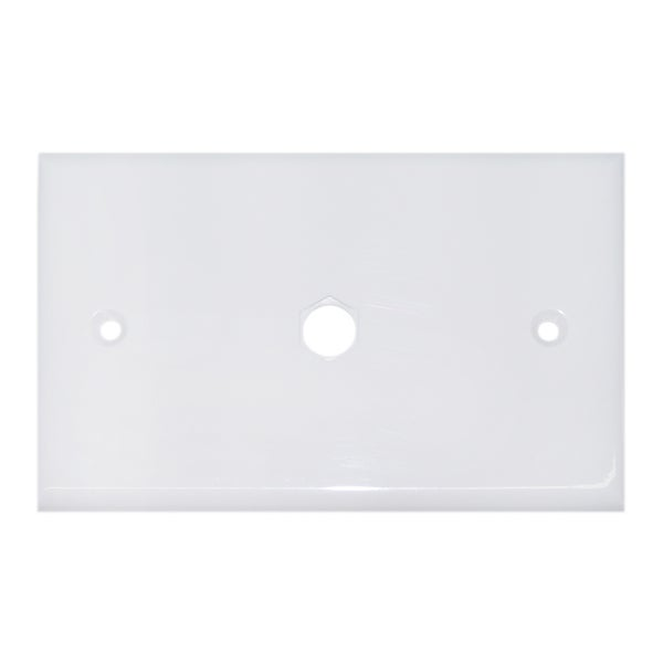 Offex Wall Plate 1 hole for F-Pin Connector