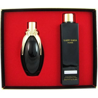 Lady Gaga Fame Black Fluid 2-piece Set