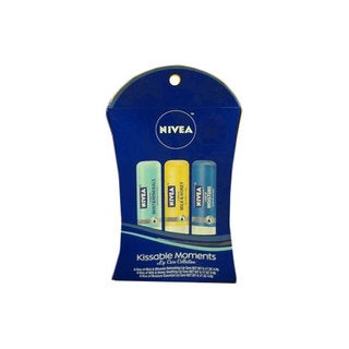 Nivea Lip Care 3-piece Kissable Moments Gift Set