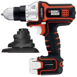 Black & Decker 12-volt Matrix Lithium Drill/ Driver and Sander Kit