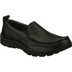 Men's Skechers Relaxed Fit Superior Gains Black/Black/Black