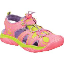 Girls' Skechers Cape Cod Pink/Green