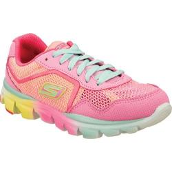 Girls' Skechers GOrun ride Ultra Pink/Pink/Multi