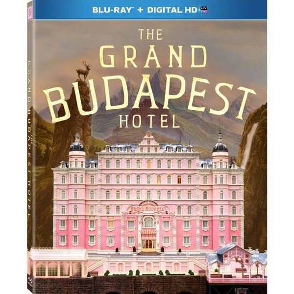 The Grand Budapest Hotel (Blu-ray Disc) 12980756
