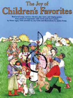 The Joy of Children's Favorites: Piano Solo (Paperback)