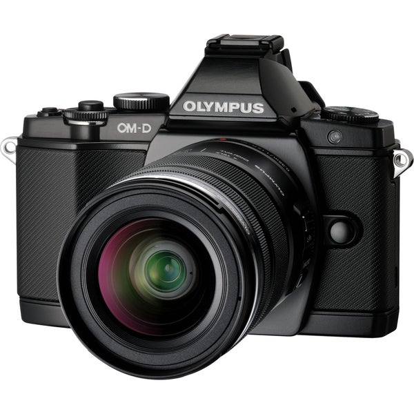 Olympus OM-D E-M5 16.1 Megapixel Mirrorless Camera (Body with Lens Ki