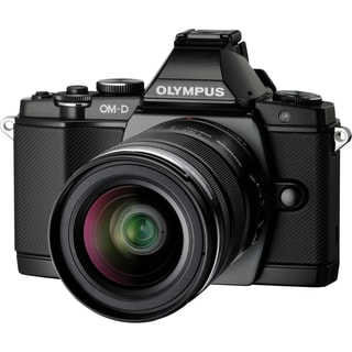 Olympus OM-D E-M5 16.1 Megapixel Mirrorless Camera (Body with Lens Ki