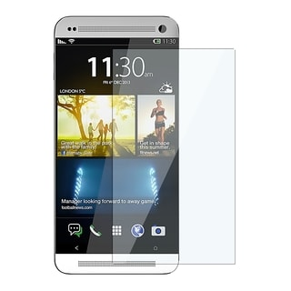 INSTEN Clear Regular Reusable Screen Shield Film Cover Protector for HTC One M8