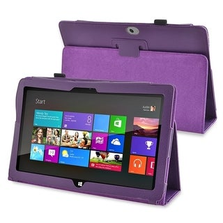 BasAcc Heavy Duty Stand Leather Case for Microsoft Surface RT/ Surface 2