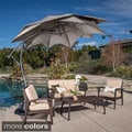 Christopher Knight Home Lotus Banana Sun Canopy with Base