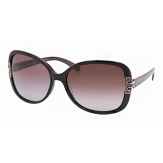 Tory Burch Women's 'TY 7022' Gradient Oval Plastic Sunglasses