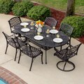 Heritage Bronzetone Cast Aluminum 7-piece Patio Dining Set