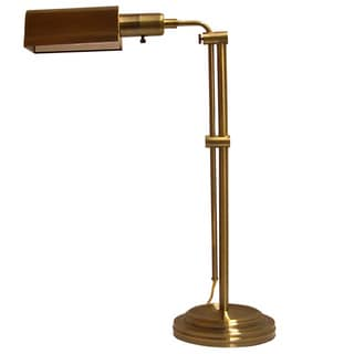 Crown Lighting Apothecary Aged Brass Adjustable Table Lamp