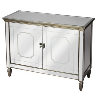 Antiqued Mirrored Console Buffet