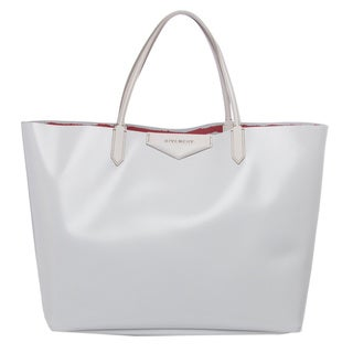 Givenchy Antigona Medium White Smooth Leather Tote