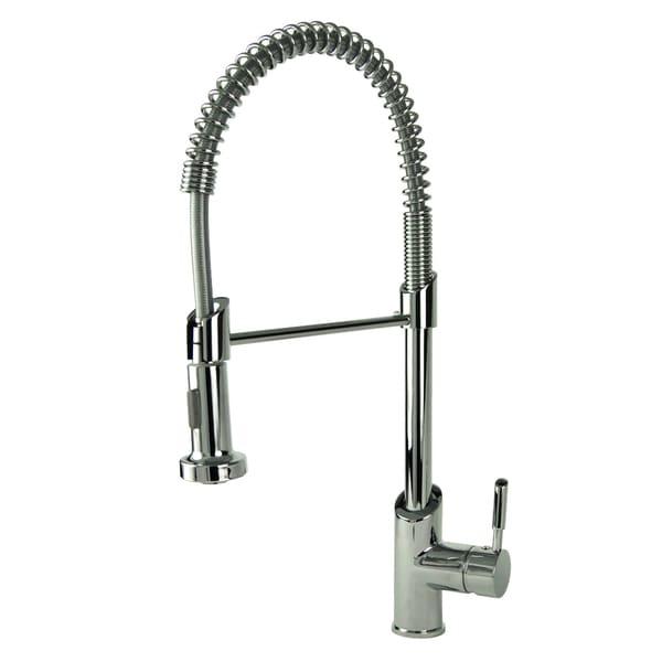 fontaine chrome modern european spring kitchen faucet