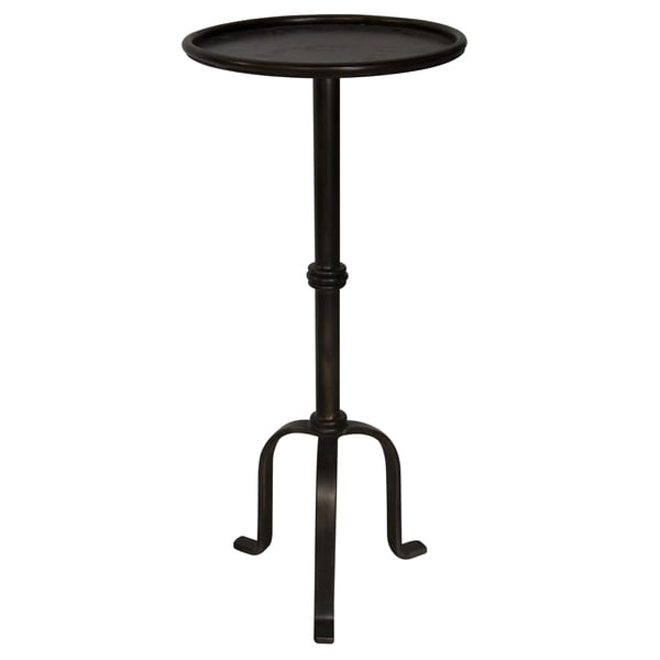 Martini Black Steel Side Table