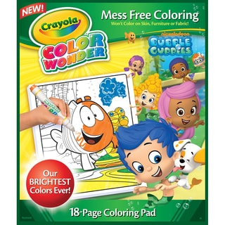 Crayola Color Wonder Coloring Pad-Bubble Guppies