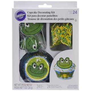 Cupcake Decorating Kit Makes 24-Frog