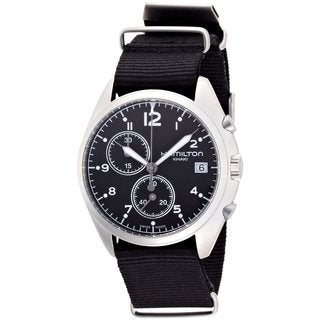 Hamilton Men's 'Pilot Pioneer' Black Watch