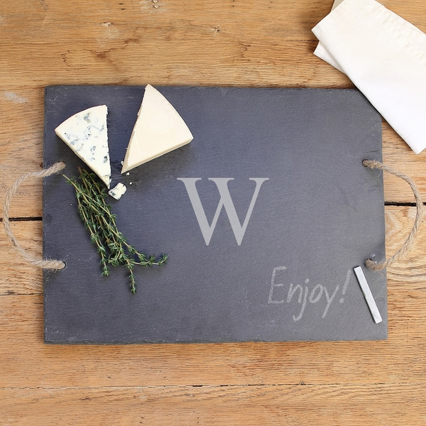 Personalized Slate Serving Board