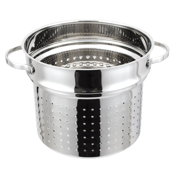 Strauss Tango 8.5-quart Stainless Steel Pasta Steamer Insert