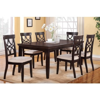Avellino 5 or 7-piece Wood Dining Set
