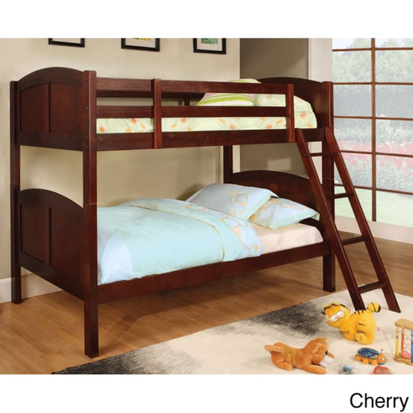 Certers Twin Over Twin Bunk Bed with Twin Trundle