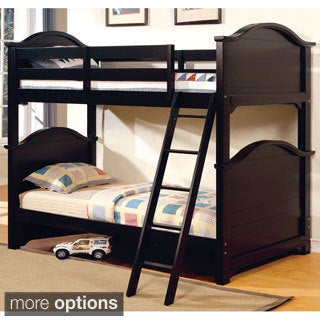 Larissa Twin Over Twin Bunk Bed with Under Bed Drawers