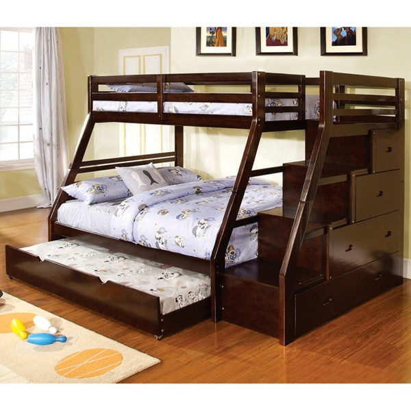 heavy duty twin over full bunk beds 2
