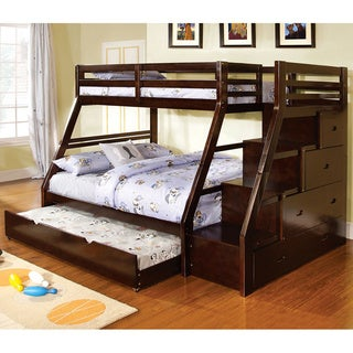 Ellington Twin Over Full Bunk Bed with Twin Trundle
