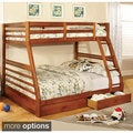 Vidin Twin Over Full Bunk Bed with 2 Drawers
