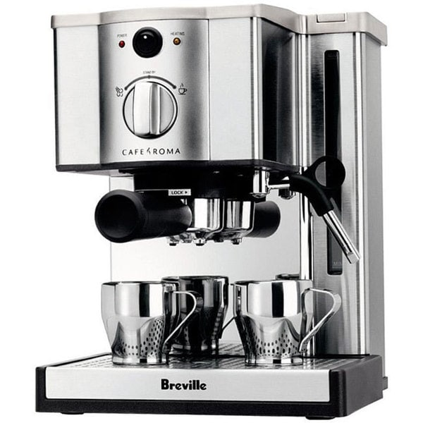 Breville ESP8XL Stainless Steel Cafe Roma Espresso Maker