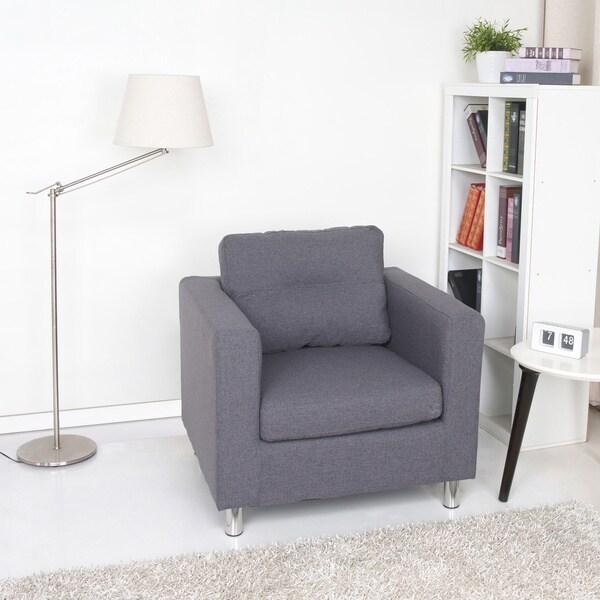 Detroit Dark Grey Armchair