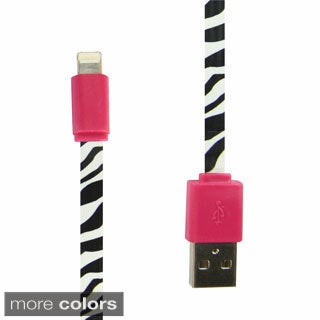 Flat Flashy USB 3-foot iPhone Cable