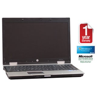 HP 8540P Core i7 2.66GHz 4GB 320GB DVDRW Webcam 15.5-inch Windows 7 Pro Laptop (Refurbished)