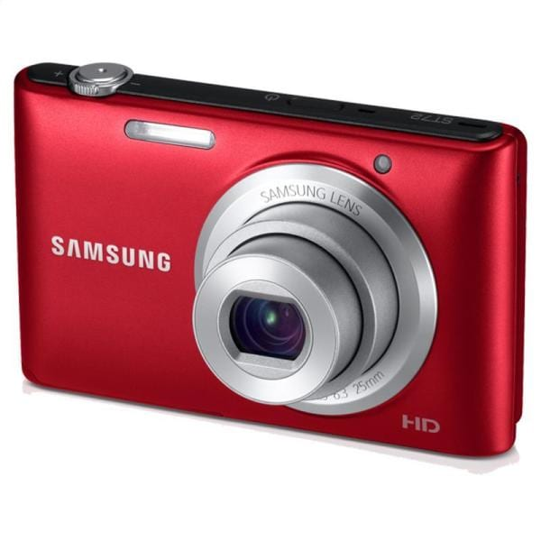 Samsung HD 16.2MP 3-inch Red 5x Optical Zoom LCD Digital Camera (Refurbished)