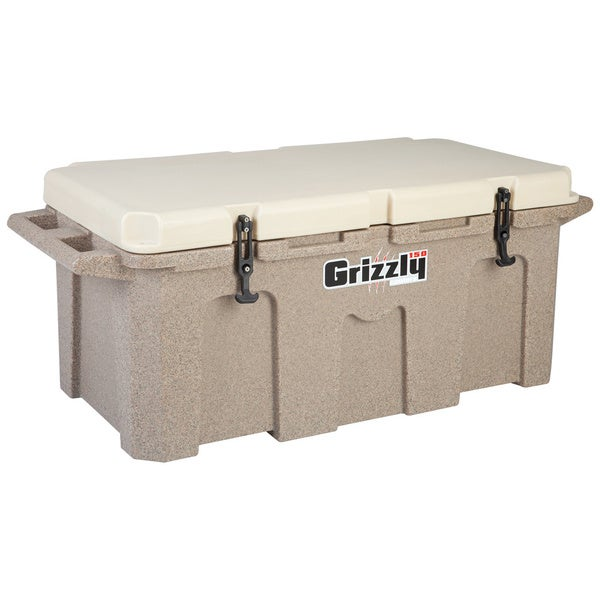 Grizzly 150 Sandstone/Tan Heavy Duty Cooler