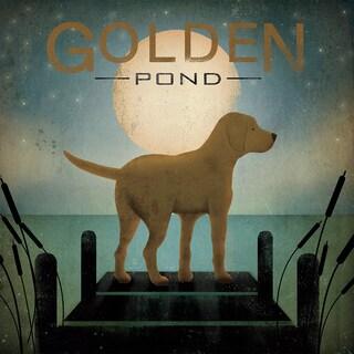 Ryan Fowler 'Golden Pond' Giclee Print