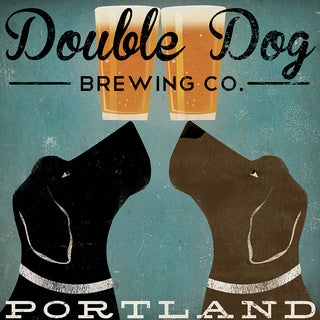 Ryan Fowler 'Double Dog Brewing Co.' Giclee Print