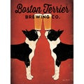 Ryan Fowler 'Boston Terrier Brewing Co.' Giclee Print